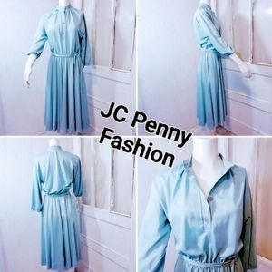 Vintage JCPENNEY Simple Dress with tie